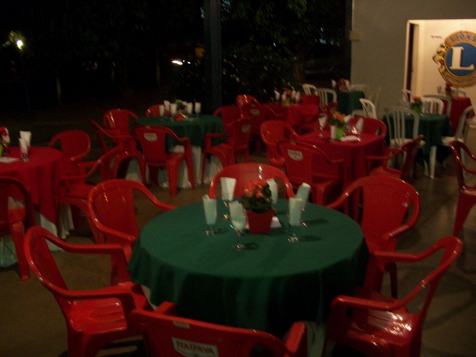 Foi um sucesso nossa 1ª noite italiana
