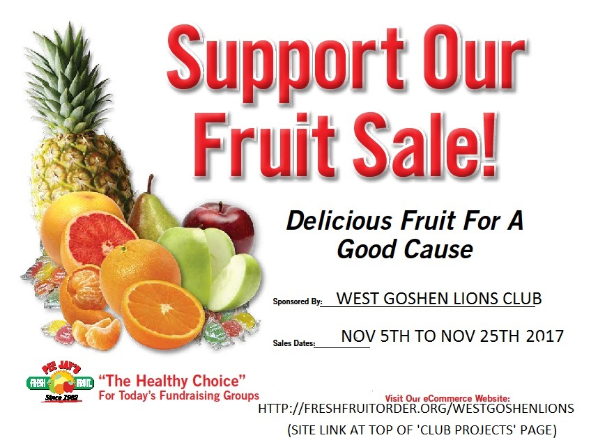 Support our Fruit Sale