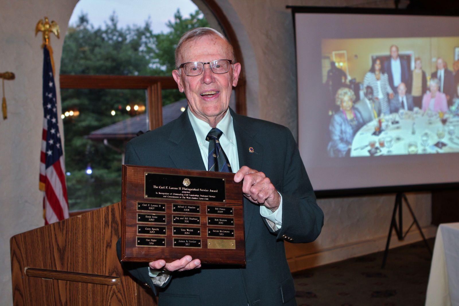 Carl Lorenz II Award