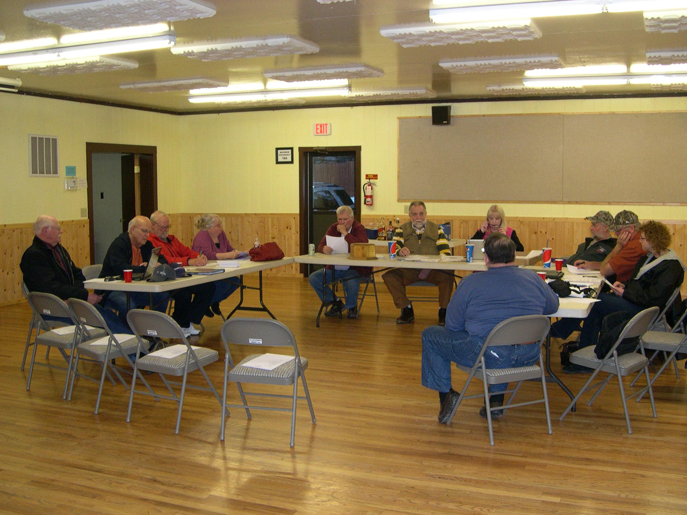 Board Meeting 3/12/2015