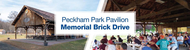 Peckham Park Pavilion Memorial Brick Drive