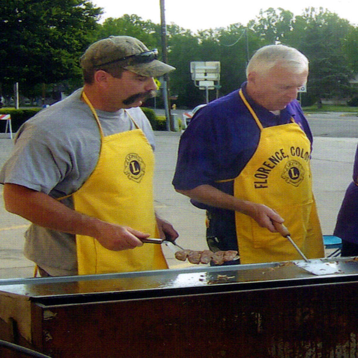 Florence Lions Cooking up the Best Sausage in Fremont County