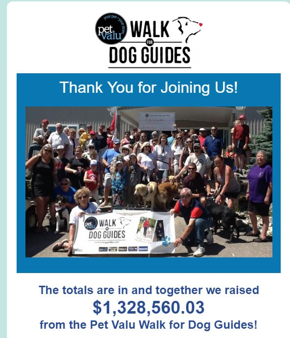 Dog Guides Thank You 2019