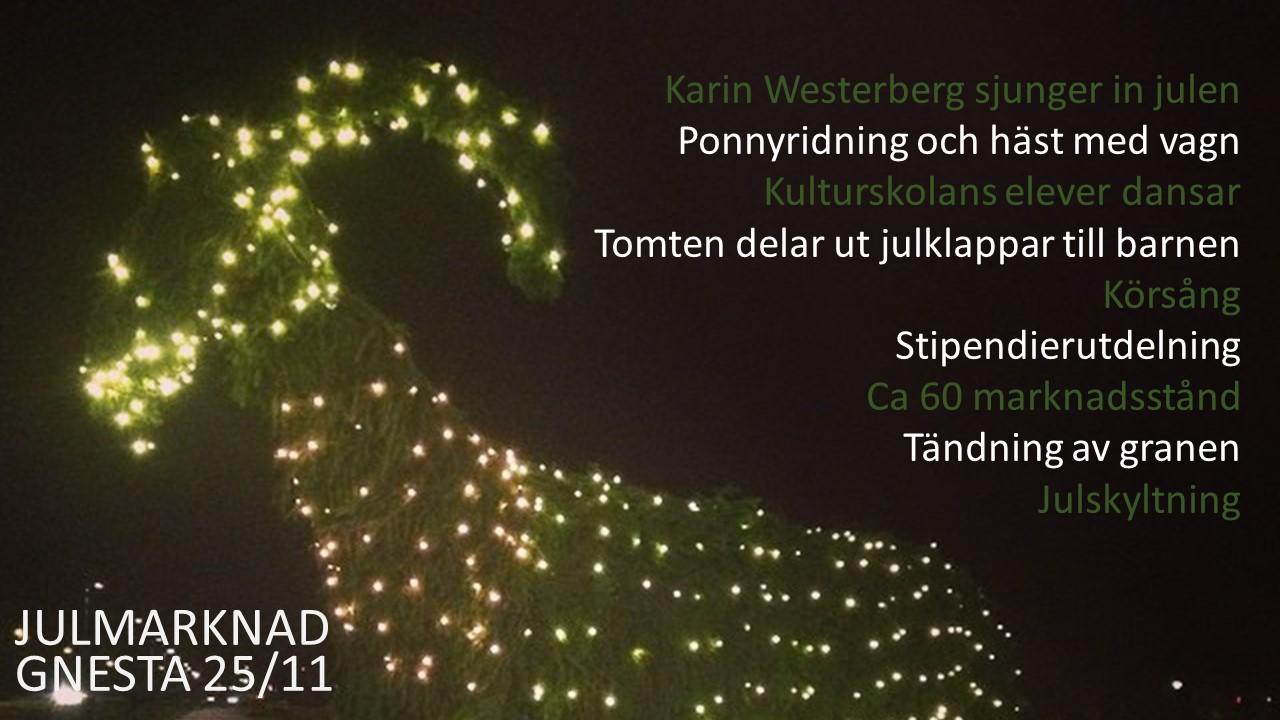 Julmarknad 25 november 2018