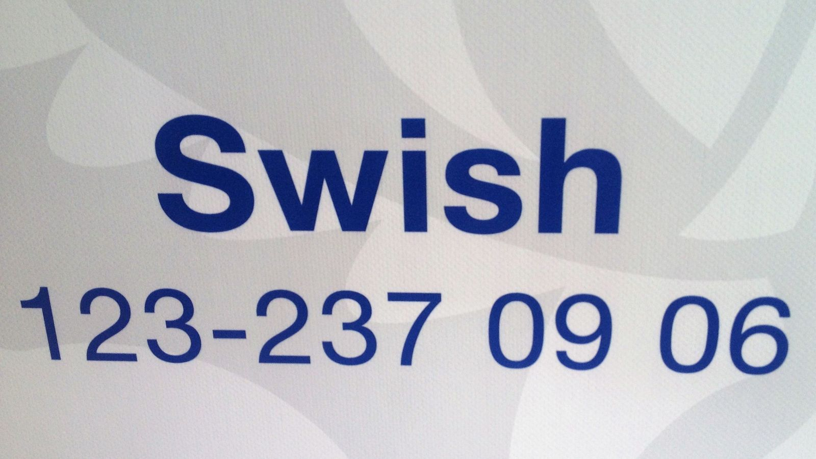 Lions Club Gnesta har Swish-nummer 123-237 09 06