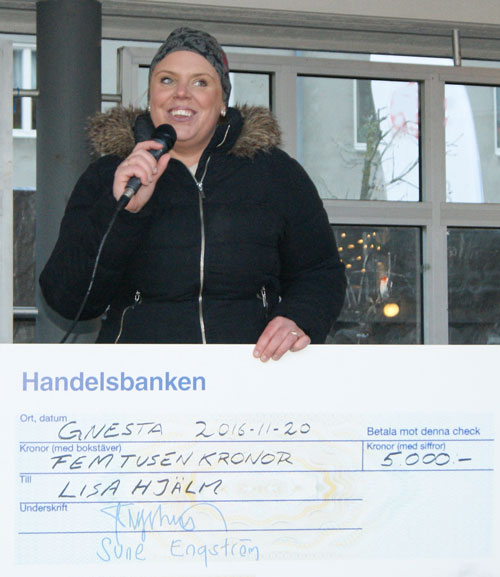 Lisa Hjälm Stipendium