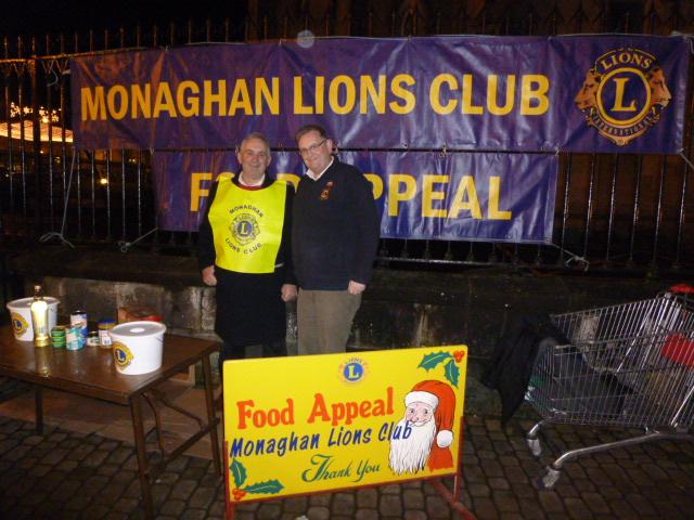 Monaghan Lions Food Appeal