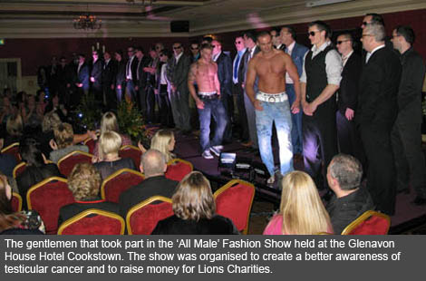Cookstown and Magherafelt Lions Club All Male Fashion Show