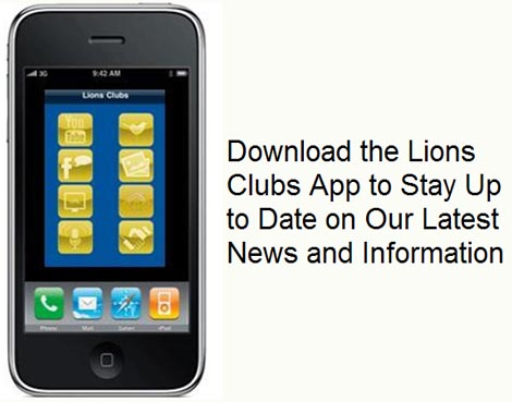 Lions iphone application