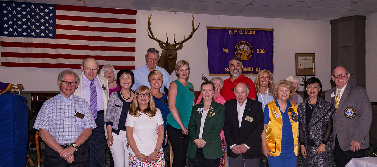 2018 - 19 Santa Monica Lions Club Board