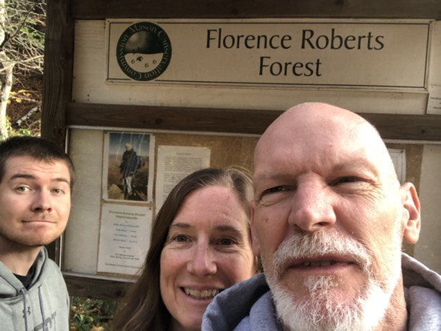 Scavenger hunts at the Florence Roberts forest kiosk in Mason.