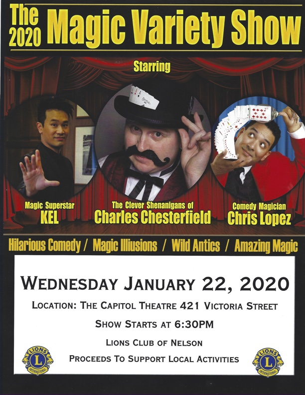 Nelson Lions 20202 Magic Variety Show