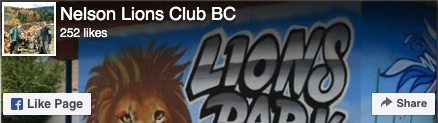 Nelson Lions Club BC nelsonlions.ca on FaceBook