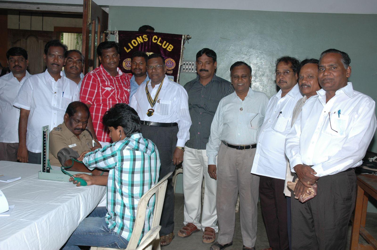 LIONS CLUB OF VILLUPURAM MEGA GENRAL  HEALTH CAMP