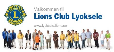 Välkommen till Lions CLub Lycksele