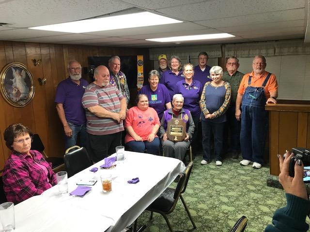 Lyndon Lions club members