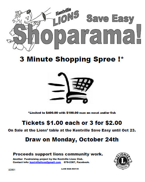 Shop-a-Rama flyer