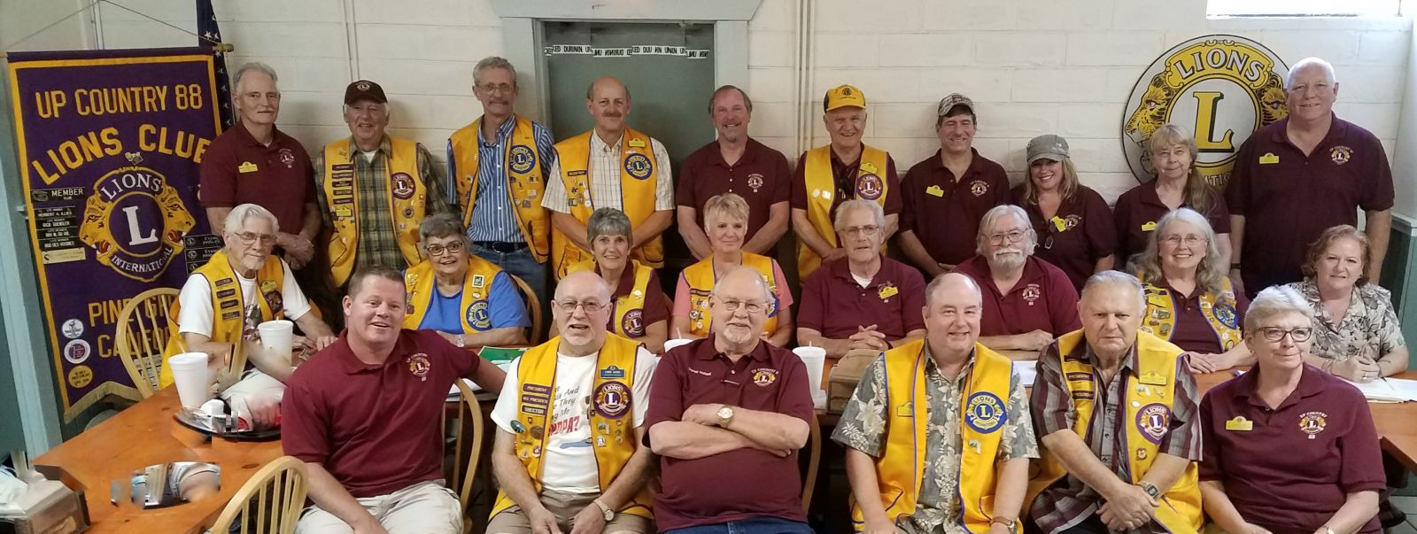 Up Country 88 Lions Members