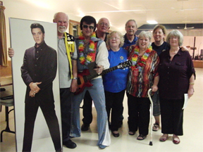 The Bond Head Lions with Dorian Baxter and the King of Rock & Roll Elvis