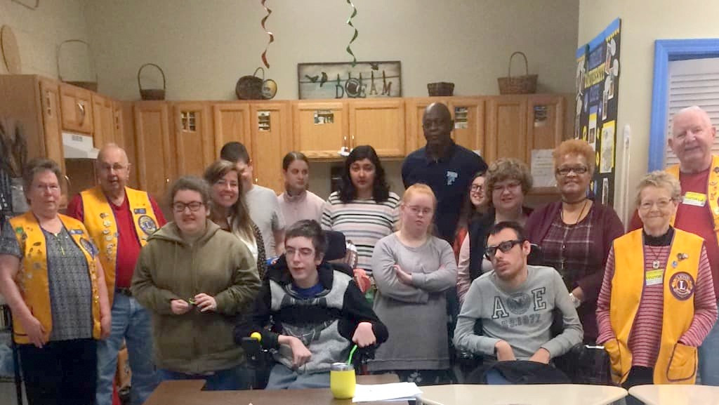 Once again the Unionville Lions Club hosted a Super Bowl party at Piedmont High School for their Transition To Adulthood (TTA) class. This year the party took place on Friday, January 31, 2020.