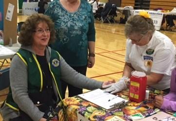 Diabetes Screening at Health Fair