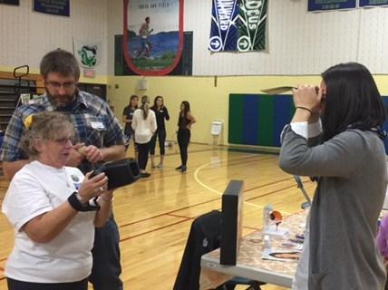 Vision Screening at Health Fair
